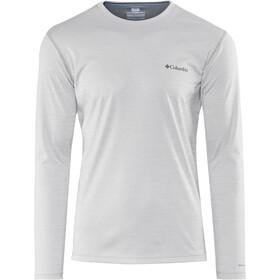 Columbia Zero Rules Longsleeve Shirt Heren, grijs